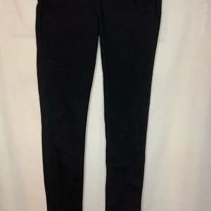 High Rise Super Skinny black Jeans